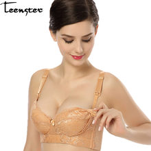 78a8bdabde01f Teenster Pregnancy Clothes Maternity Bra Breastfeeding Large Size Front  Open Button Anti Drooping Nursing Bra for