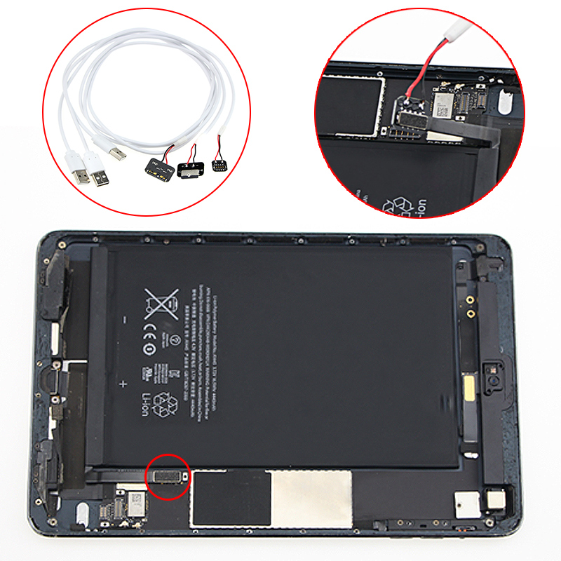 Professional DC Power Supply Current Test Cable Repair Line For iPad mini/ iPad 3 4 5/ Air /Air 2 Cable iPhone