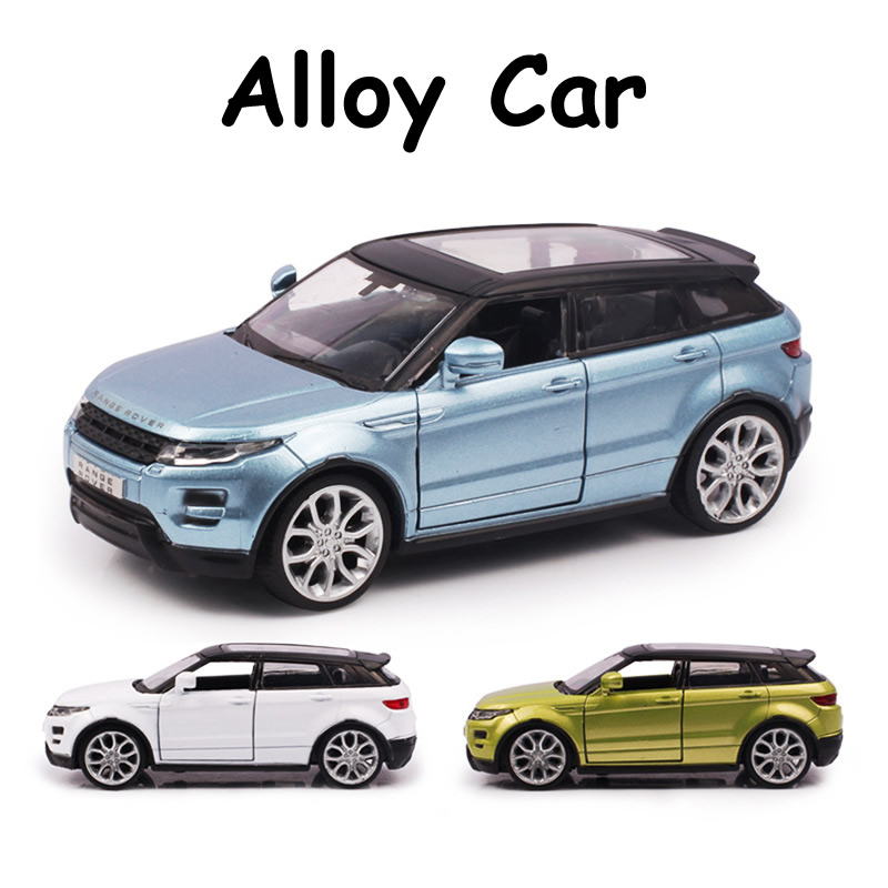 Alloy Car Model SUV 1:35 For Land Rover Evoque Diecast