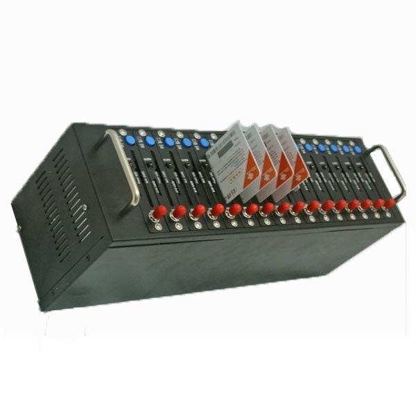 Оригинальный wavecom q2403 смс 16 сим карты GSM модемный пул бесплатное программное обеспечение для смс система перезарядки imei переменчивая