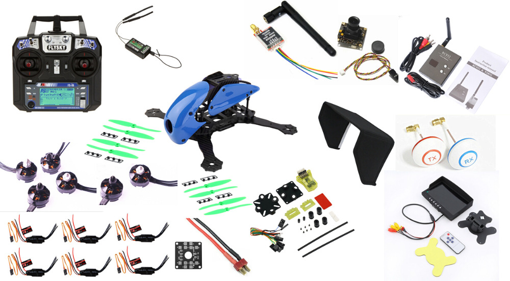 FPV 5 8G TX RX Full Set Carbon Fiber Robocat 270mm Quadcopter Mini CC3D controller Flysky aliexpress com buy fpv 5 8g tx rx full set carbon fiber robocat CC3D Manual at fashall.co