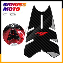 купить 3D Motorcycle Front Gas Fuel Tank Cover Protector Tank Pad Case for Yamaha YZF-R1 R1 2007 2008 дешево