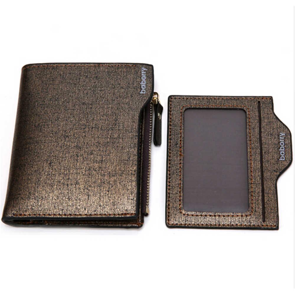 Роскошные Дизайнерские Walet Известный Бренд портфель визитница кожа мужчины бумажник сцепления Кошелек для монет мешок денег Cuzdan Portomonee Валле