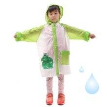 100pcs Student Raincoat Baby Children Cartoon Kids Girls Boys Rainproof Rain Coat Waterproof Poncho Rainwear Waterproof  ZA0728