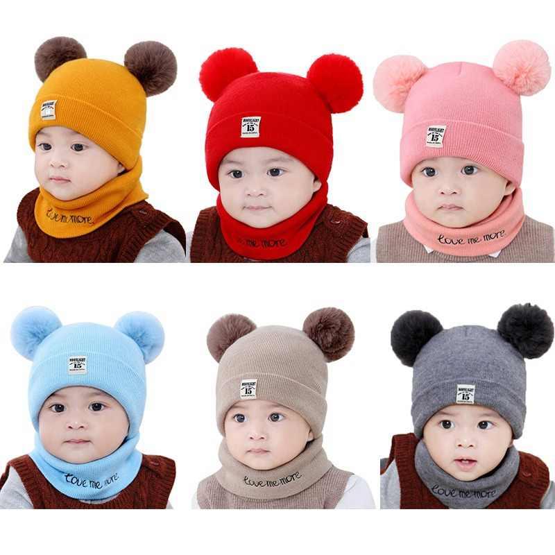 New Toddler Kids Girl/&Boy Baby Infant Winter Warm Cartoon Falt Hat Beanie Caps