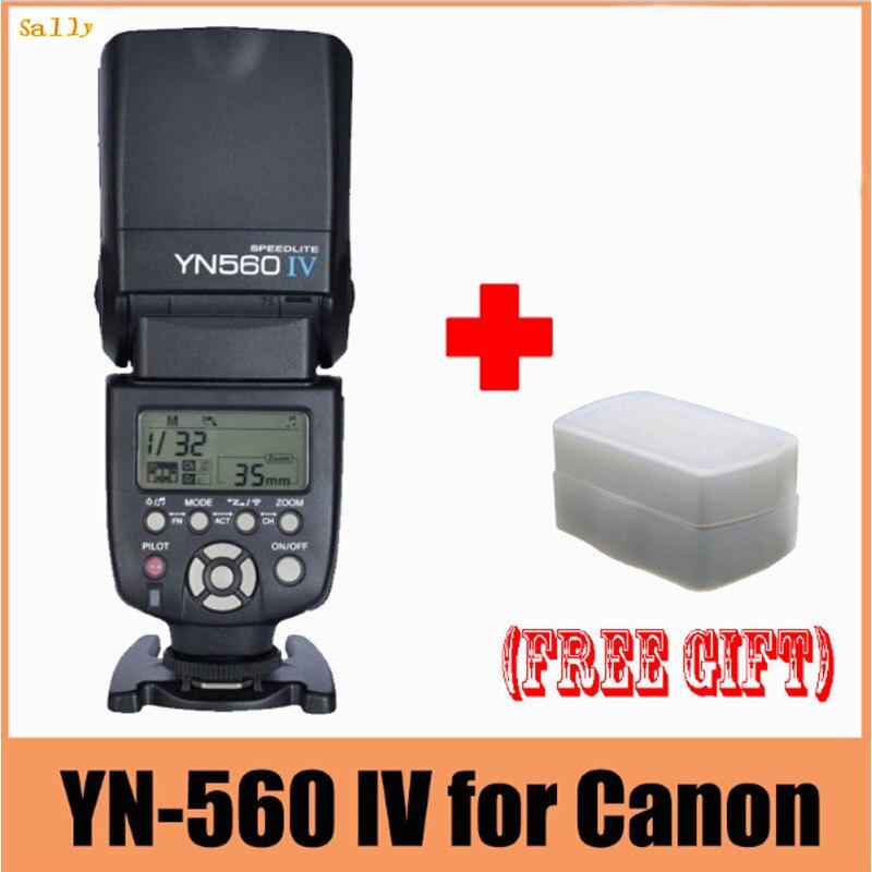 YONGNUO YN560 IV 2 4G Wireless Flash Speedlite For Canon 5D Mark II III 7D 60D