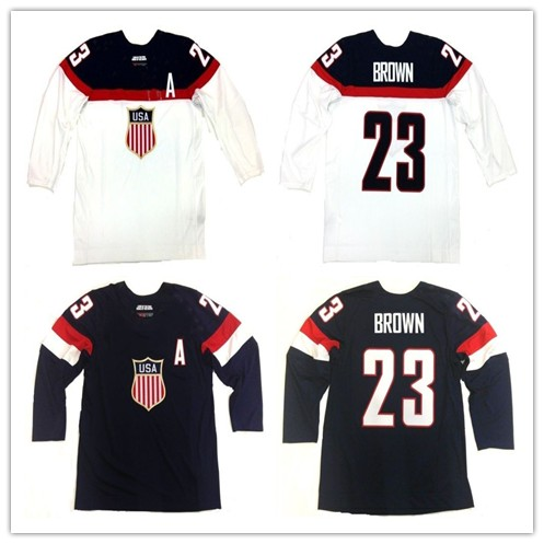 5f3b417a8 Buy brown hockey jersey and get free shipping on AliExpress.com