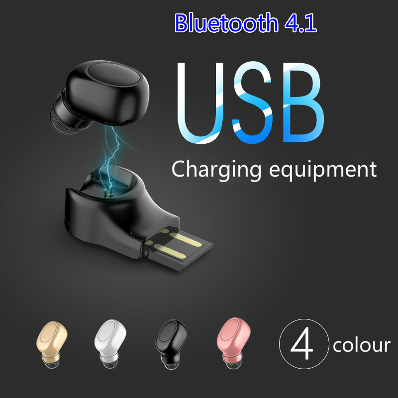 X11 Mini In-ear Bluetooth Earphone Wireless Music Handsfree Car Driver Headset Phone Stealth Earbuds With Microphone For Phone