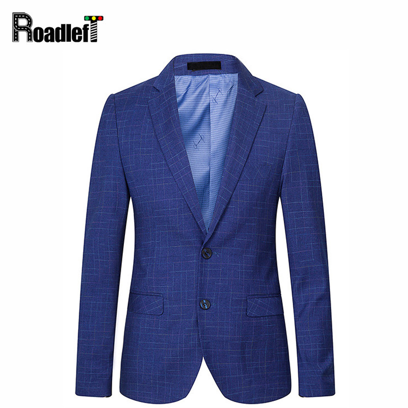 Mens Marca Xadrez Slim Fit Casuais Homens Blazer Casamento Do Baile De  Finalistas ternos Smoking Azul Royal Borgonha Vestido de Paletó Homens  Bussiness ... b6882b75d0256