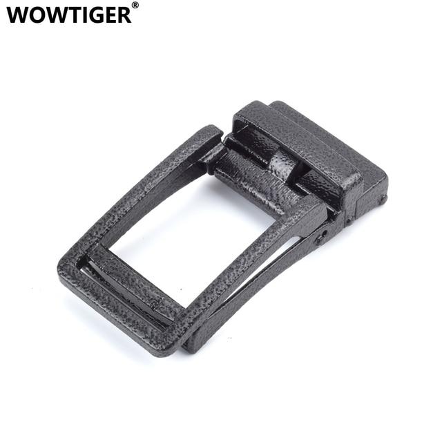WOWTIGER Men`s belt high quality Zinc Alloy Automatic Buckle Suitable 3.5cm boucle  de ceinture ebilla cinturon buckles 384cf4ba754