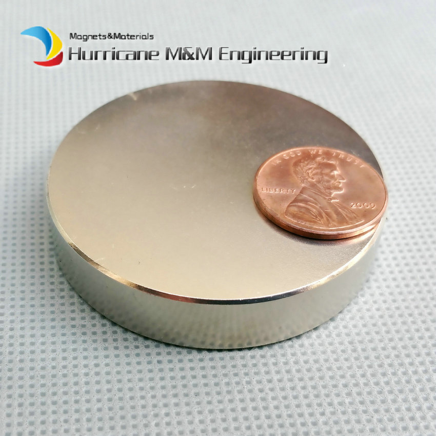 N52 NdFeB Magnet Disc Dia50x10 mm 1.97 25 KG Pulling  Super Strong Magnet Neodymium Permanent Rare Earth Magnets NiCuNi