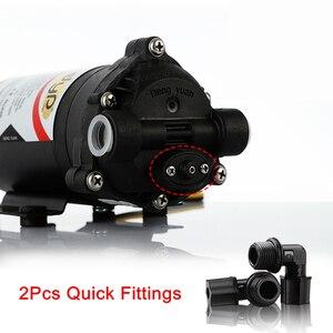 Image 2 - Osmosi inversa Pompa Booster 50 GPD per 75 Gallon 24 v Trasformatore Con Raccordi Rapidi Aumentare Depuratore di Acqua di Flusso di Pressione pompa