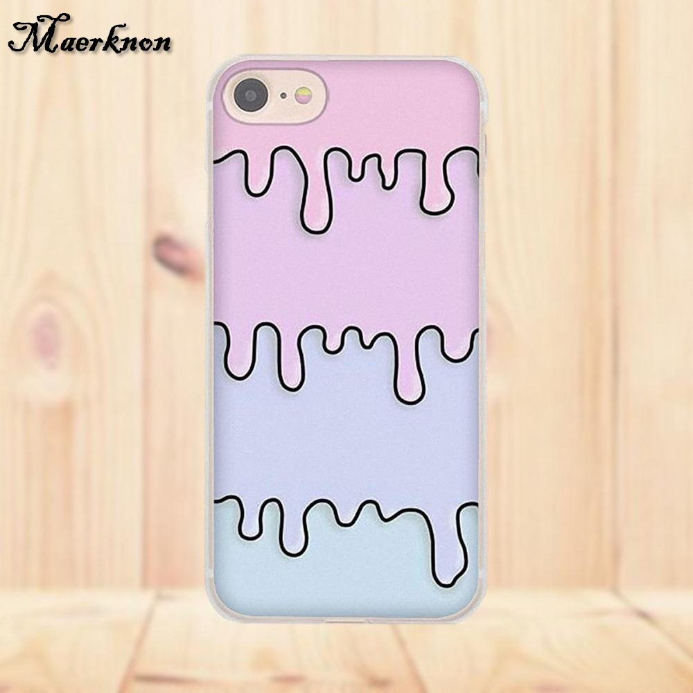 Hot Sale Dripping Pink Blue Slime For Xiaomi Redmi 4 3 3S
