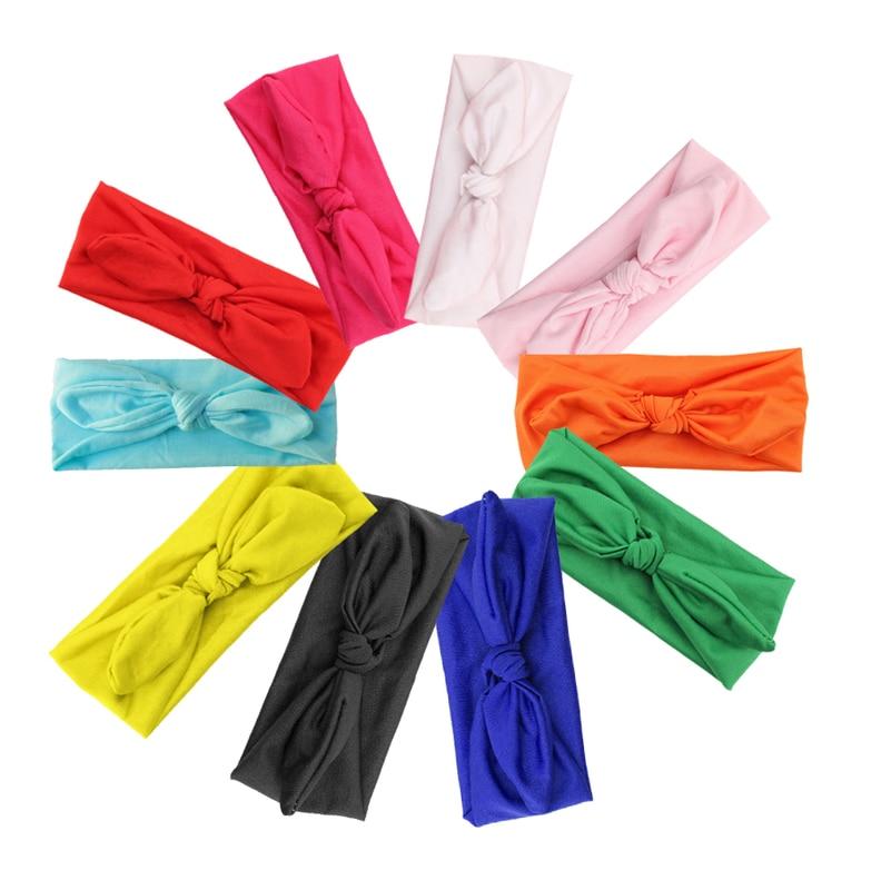 Diadema elástica de oreja para mujer chica cinta para el pelo turbante cinta para el pelo Bandana accesorios para el cabello al aire libre