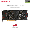 Original Colorful iGame GeForce GTX 1060 Vulcan U 6G Video Graphics Card 8008MHz 192bit GDDR5 PCI-E X16 3.0 Support DVI HDMI DP