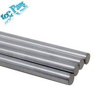 Оптической оси 300 мм 320 330 350 390 400 500 мм Гладкие стержни 8 мм слайд линейный вал железнодорожных части chrome 3D принтеры часть покрытием направляющие