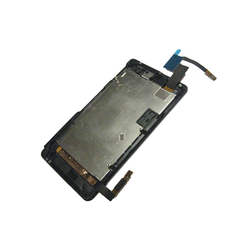 Black For Sony Xperia Go ST27 ST27i ST27A Full LCD Display Panel Module + Touch Screen Digitizer Sensor Assembly Frame