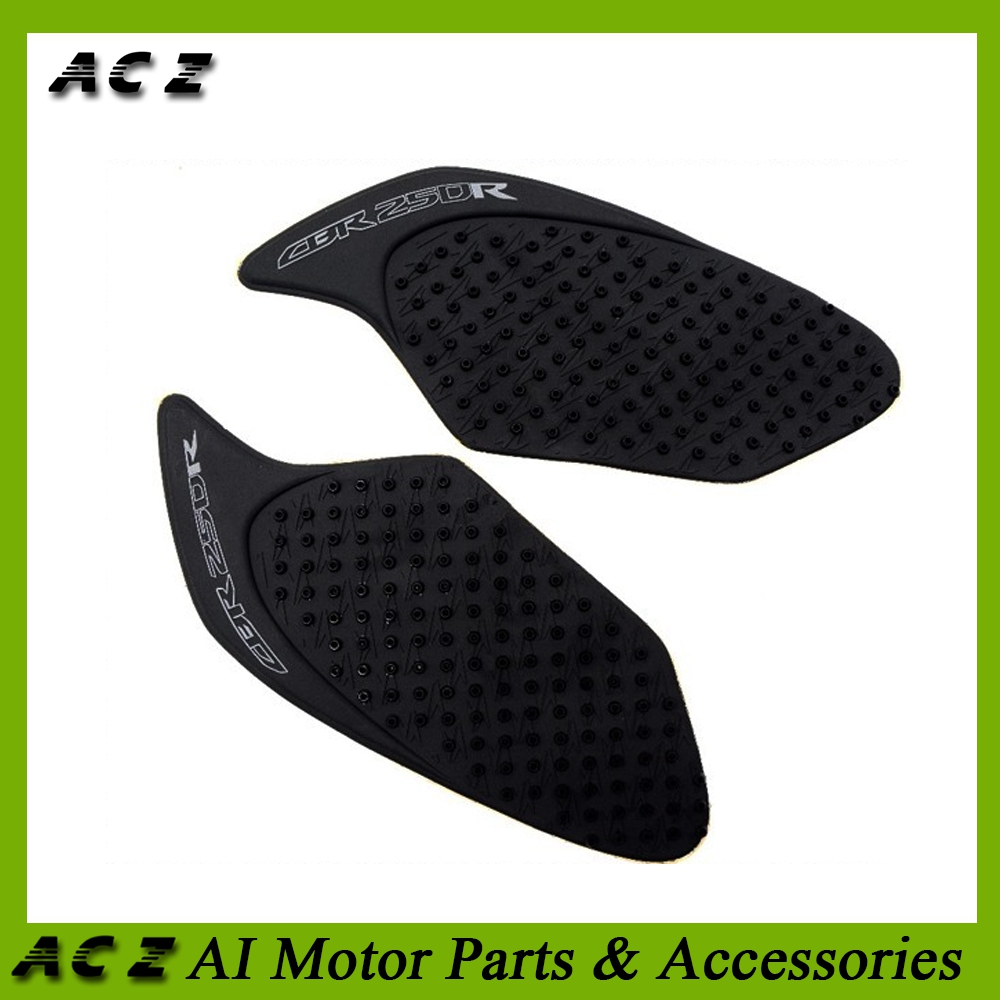 Motorcycle Accessories & Parts Painstaking Acz Motorcycle 3m Side Tank Traction Pad Side Gas Knee Grip Protector Anti Slip Sticker For Honda Cbr250 Cbr 250r 2010-2015 Pure Whiteness