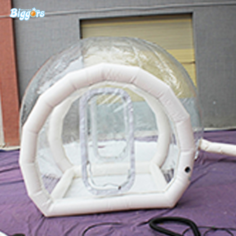 где купить Inflatable Transparent Tent Inflatable Bubble Tent Inflatable Air Dome Tent With Blowers дешево