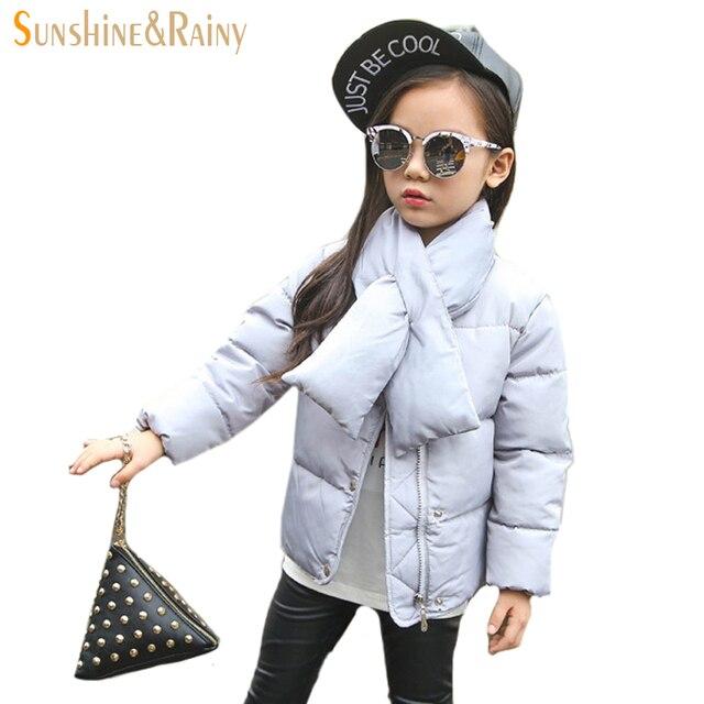Ultra Light Down Jacket Girls Short Down Coat Children Boys Winter Jacket 90% White Duck Down Kids Coat Baby Girls Outerwear
