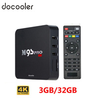 US Stock Docooler M9S PRO Fully Loaded Smart Android TV Box 3G 32G Amlogic S905 Set