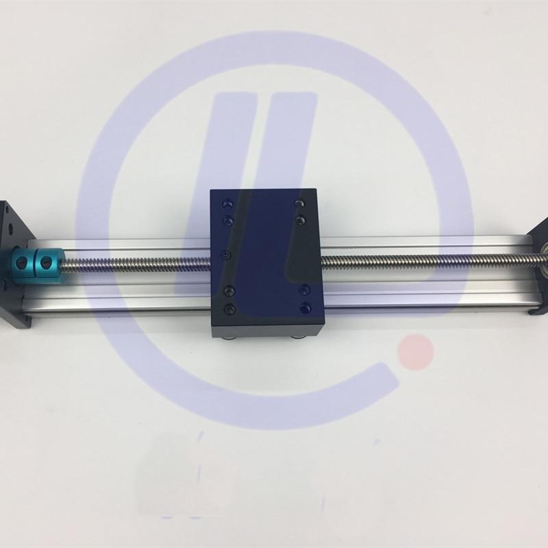 STK Effective Travel 500mm T8*8 8MM T-screw Ball Screw Linear Guide Moving Table Slide Rail+ Nema 23 Stepper Motor брюки домашние лори лори lo037ewxpu60