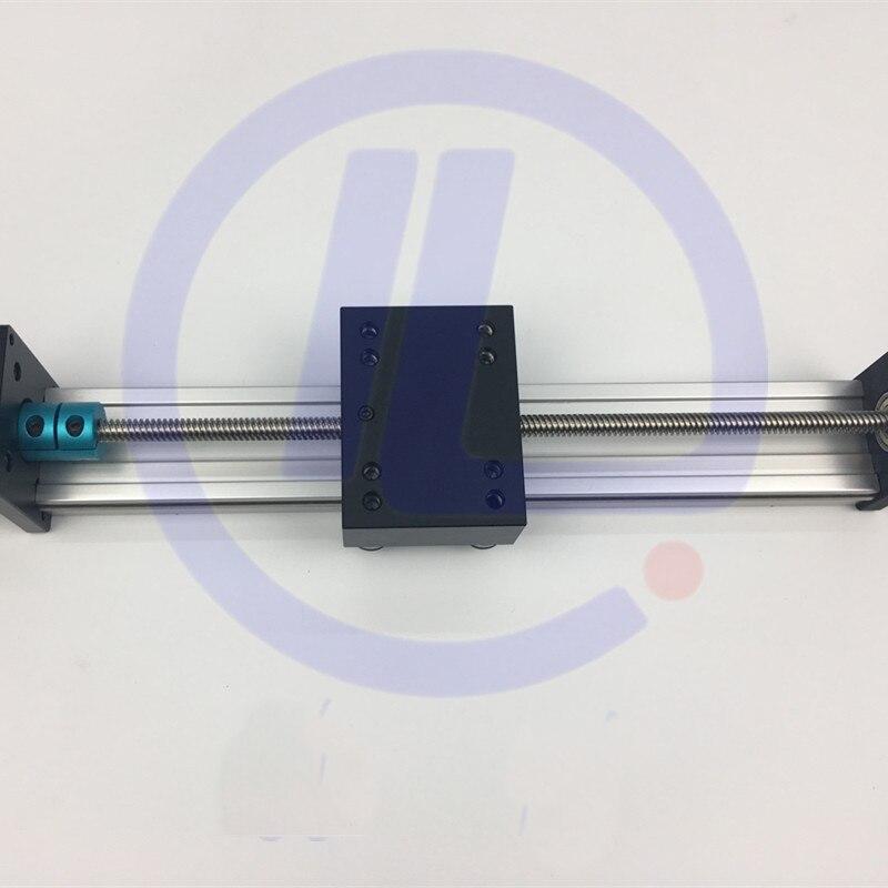 STK voyage efficace 500mm T8 * 8 8 MM vis à billes t-vis Guide linéaire Table mobile glissière Rail + Nema 23 moteur pas à pas