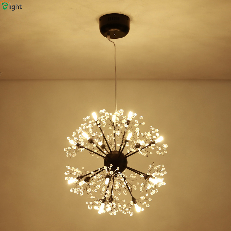 цены Modern Lustre Crystal Led Pendant Lights Chrome Metal Dining Room Led Pendant Light Bedroom Pendant Lamp Hanging Light Fixtures