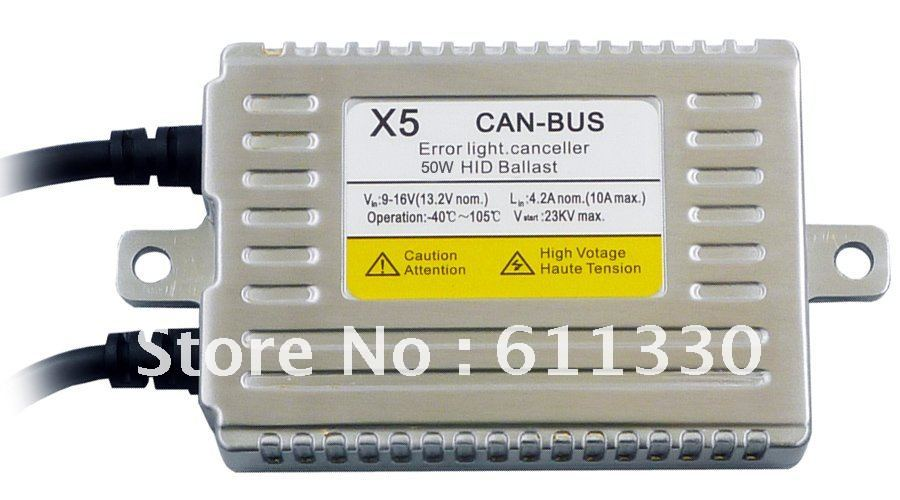 SKYJOYCE 55W HID CANBUS Ballast kit  H4 H13 9004 9007 hilo beam kit 6000K 8000K canbus hid xenon kit H4-3 EMS warning canceller