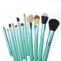 Professional Quality Brush Set 12 pcs Makeup Tools Kit Face Beauty Makeup Brushes Tools