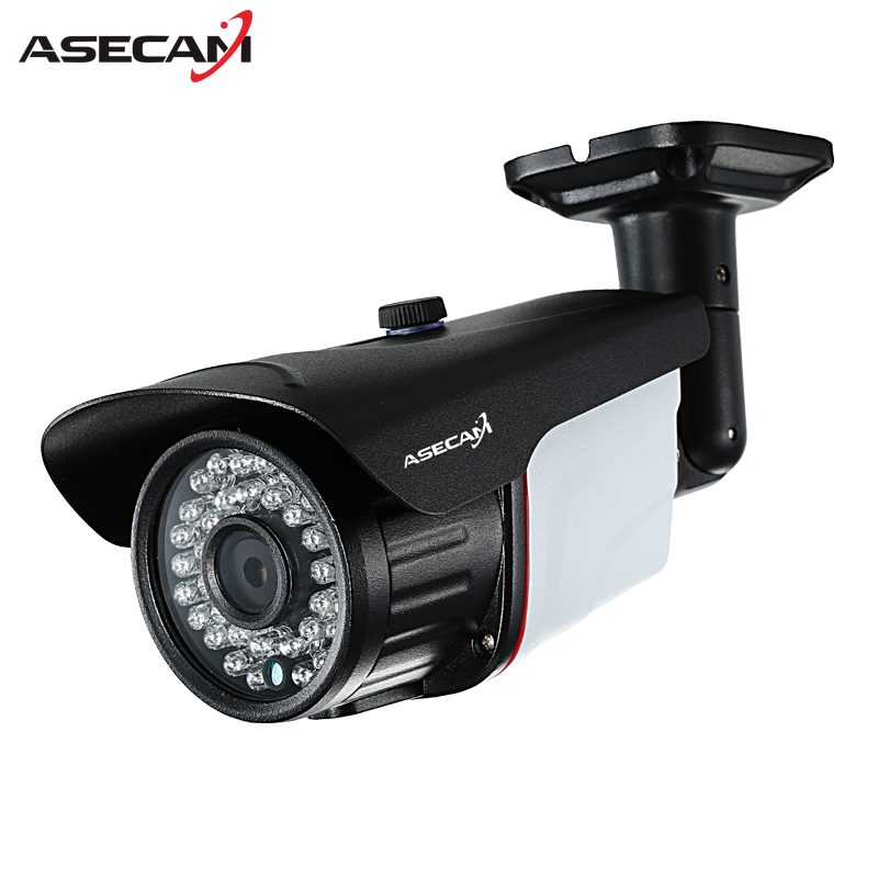 New 2MP 1080P AHD Camera Security CCTV Metal Black Bullet Video Surveillance Outdoor Waterproof 36 infrared Night Vision
