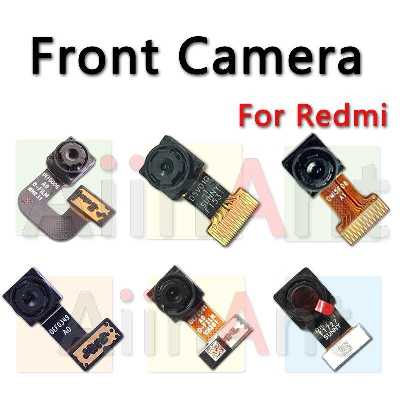 AiinAnt Small Camera Flex For Xiaomi Redmi Note 2 3 4 4a 4x 5A Pro Global Facing Front Camera Module Flex Cable Repair Parts