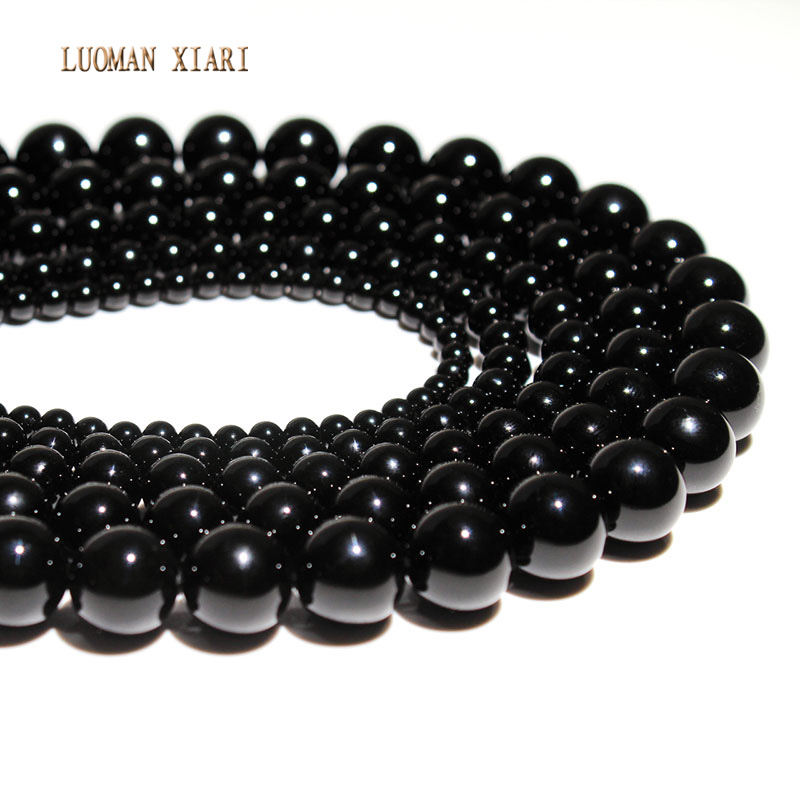 aaa-novo-preto-agat-Onix-calcedonia-diy-handmade-contas-de-pedra-naturais-para-fazer-joias-forma-redonda-4-6-8-10-12mm-fio-15''
