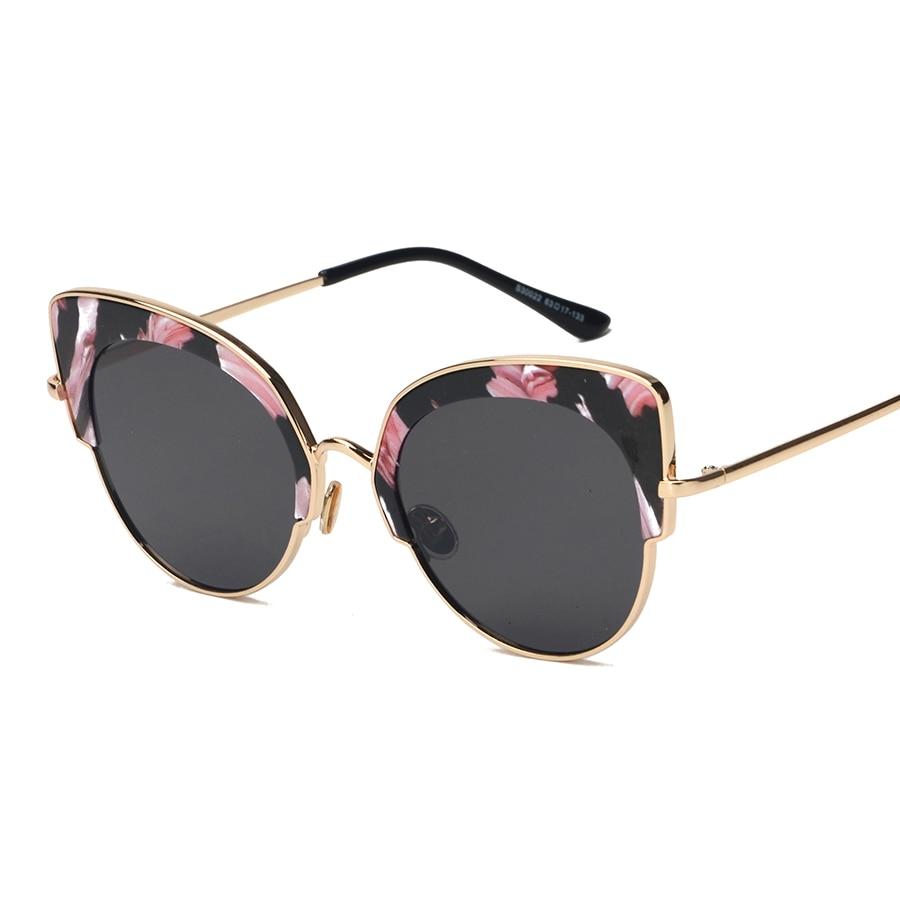 Liga envoltório cat eye óculos florais óculos new vintage retro óculos de  sol da moda unissex mulheres homens uv400 oculos de sol feminino 9643ac991c