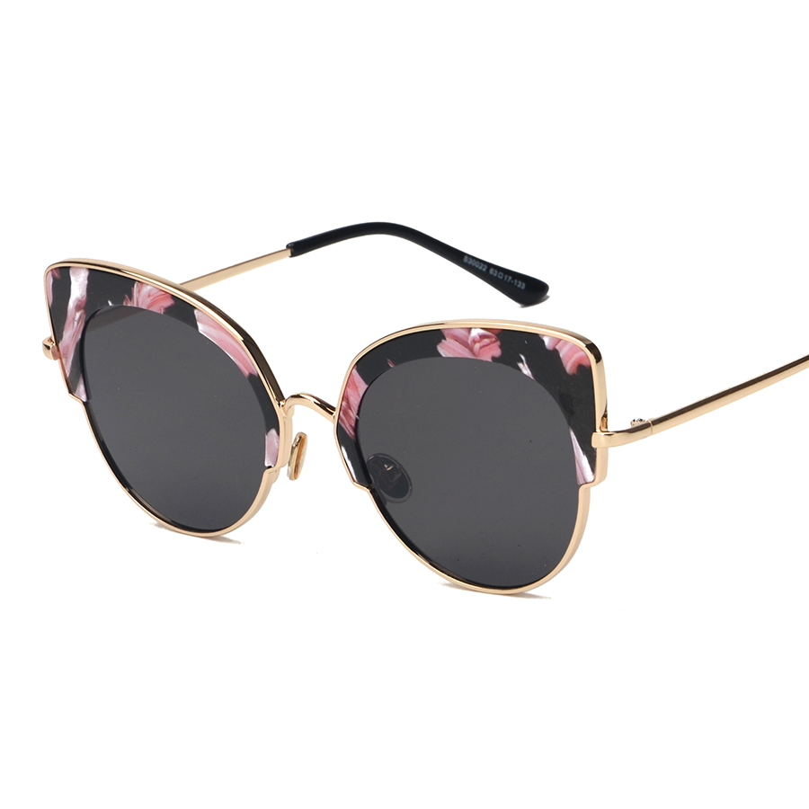 7ba3b38237705 Liga envoltório cat eye óculos florais óculos new vintage retro óculos de  sol da moda unissex mulheres homens uv400 oculos de sol feminino