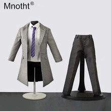 Mnotht 1:6 Scale Male Black suit Set Fashion Men Soldier Model Clothes For 12in Action Figure