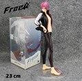 """Frete grátis fresco 9 """" frete! Iwatobi Swim Club Matsuoka Rin em caixa 23 cm PVC Action Figure Model Collection boneca de brinquedo de presente"""