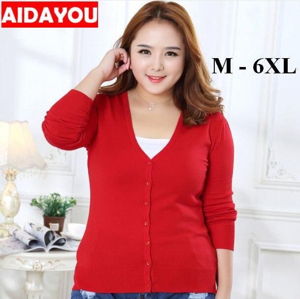 Женский вязаный свитер с длинным рукавом, свободный свитер с треугольным вырезом, большие размеры 6xl, 2020