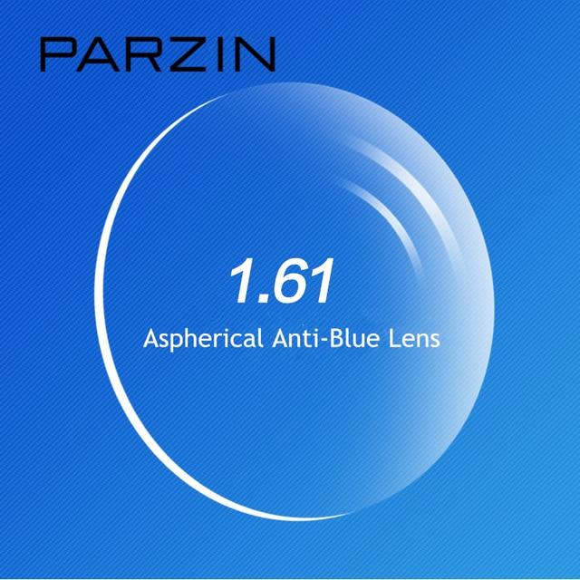 PARZIN Haute Qualité 1.61 Anti-Bleu Clair Myopie Lentille Pour Prescription  Lunettes Asphérique Lentilles Optiques 3995896a6453