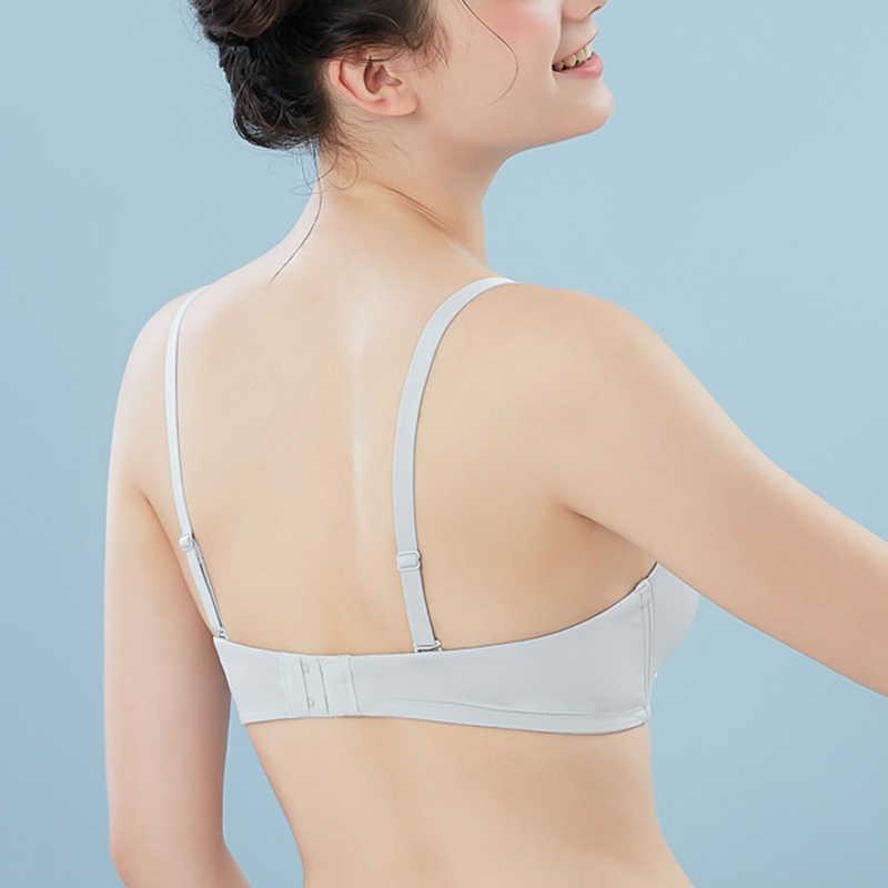 13c098e21f ... Semaless Wire Free Bras For Women Thin Cotton Push Up Bra Underwear  Breathable Solid Sexy Brassiere ...