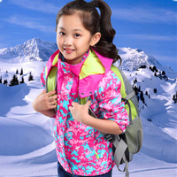 Eafreloy Children S Wear Autumn And Winter Girls Outdoor Leisure Jackets Cold Ski Clothing Child Triple