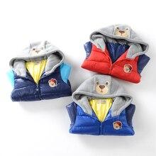 2016 новая зимняя детская одежда мальчик ватник Даже крышка подбора цвета зима зимняя куртка детская