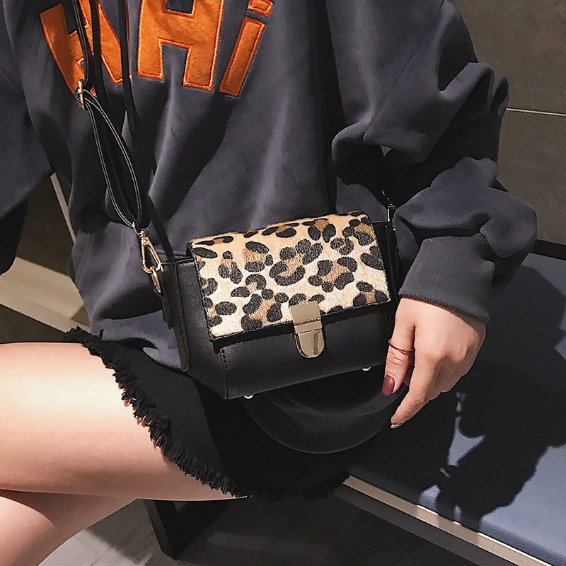 GYKAEO Ladies Leopard Evening Clutch Bags 2018 Winter Small Korean Style Shoulder Bags for Women Casual Shopping Messenger Bag 5