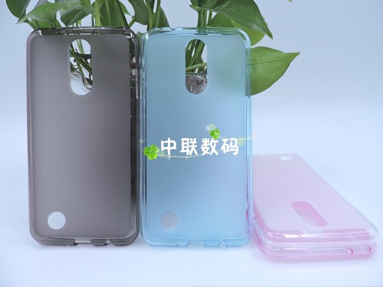 Transparent Soft Silicone TPU Phone Back Cover Case For LG K4 2017/M160/<font><b>Phoenix</b></font> 3/Fortune 5.0&#8243; Pudding Gel Soft TPU Shell TP02