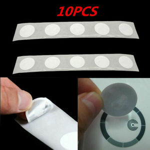 Image 2 - 10PCS Ntag213 NFC Tags Stickers 13.56 MHZ ISO 14443A Universal Lable RFID Tags Label