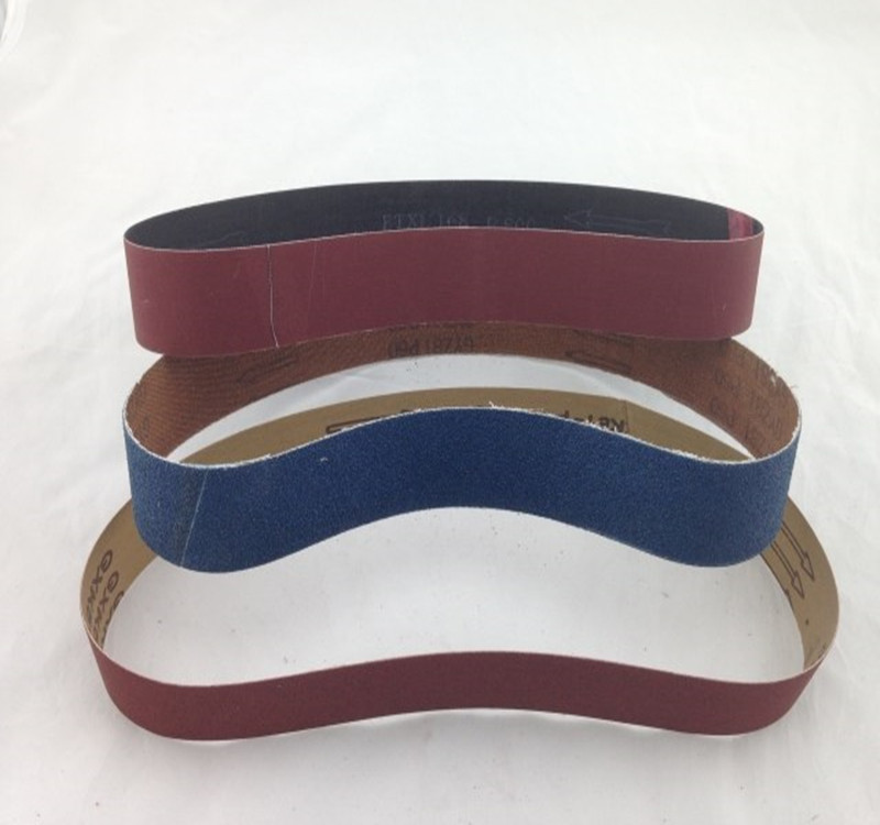10 Pieces Of  760mmX40mm Brown Corundum Polishing Belt Abrasive Belts For Pipe Sanding Machine