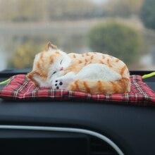 Автомобиль орнамент Симпатичные Моделирование Cat Освежители воздуха очиститель автомобильной Nano активированный уголь сумка Авто Интерьера бытовых