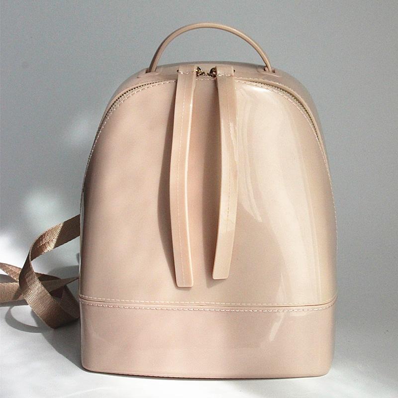 Woman bag New 2017 brand fashin new jelly bag font b backpack b font Girls Korean