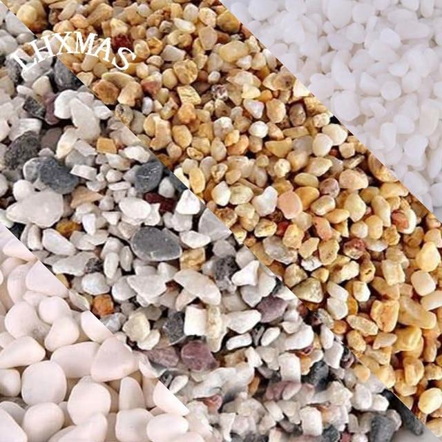 200g Snow White Gravel Black Sand Aquarium Decoration