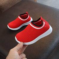 95bb52ea2 Flying Sneakers Boys Kids Spring 2019 Baby Children S Sock Shoes Red Black  Girls Sequined Casual